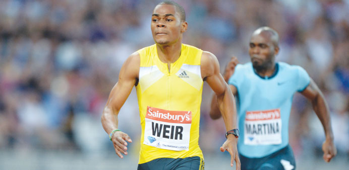Weir is healthy and ready to roll in Doha