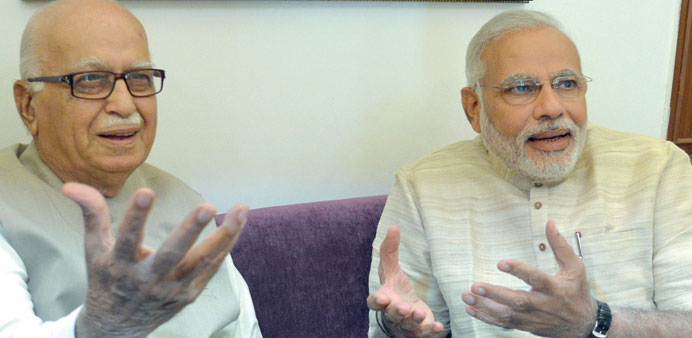 Modi meets BJP leaders for talks on forming govt