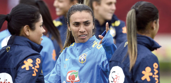 Marta ready to inspire Brazil against Matildas