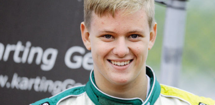 Schumi's teenage son Mick moves up to Formula 4