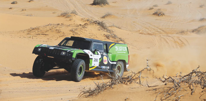 Al-Rajhi cruises to an emphatic win at Ha'il International Rally