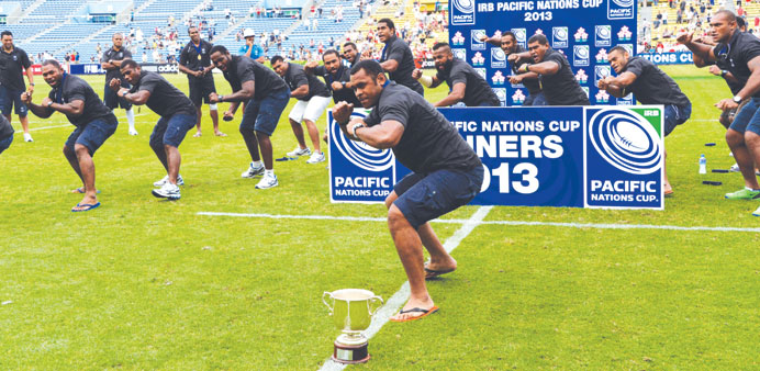1st Pacific Nations title for Fiji