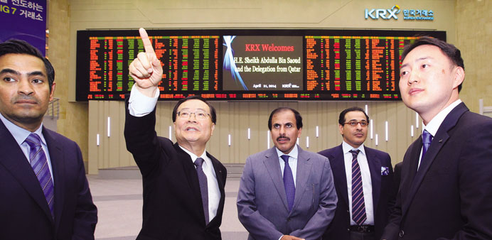 Qatar, S Korea consider MoU to boost financial, investment co-operation