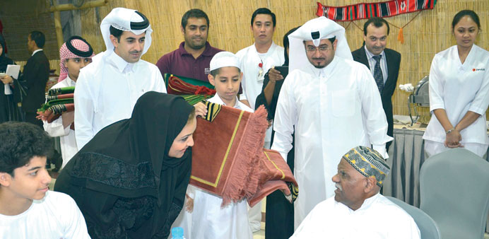 Rota hosts Iftar for elderly patients
