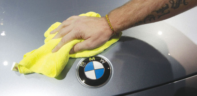 BMW profits held back by investment in new models