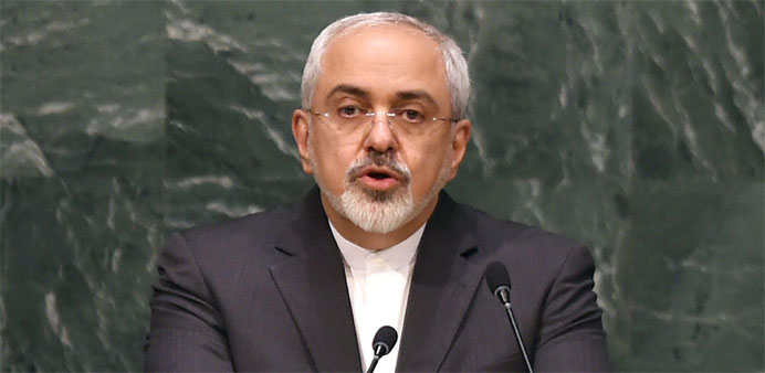 Iran nuclear sanctions 'will be lifted today': Zarif