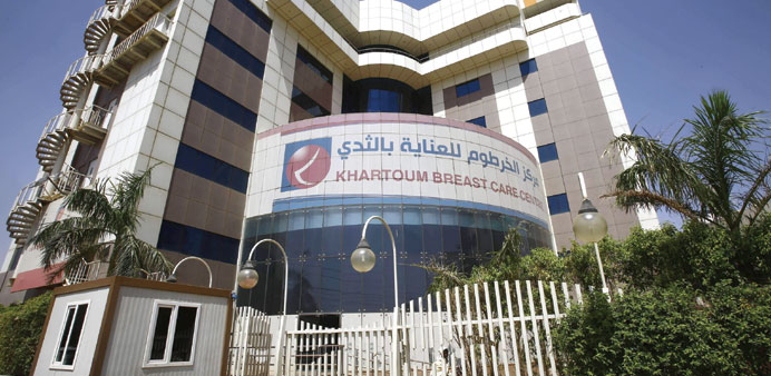 Sudan clinic offers hope for breast cancer patients