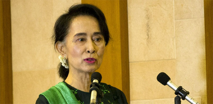 Suu Kyi appears in court to face more charges