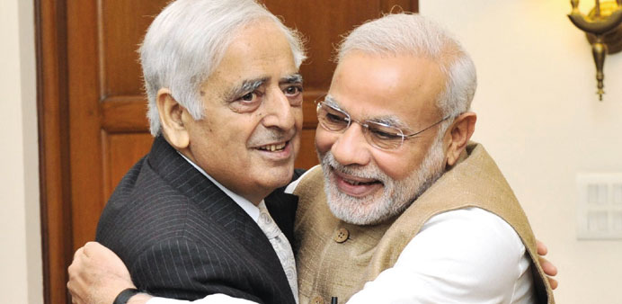 Sayeed stakes claim to power in Kashmir