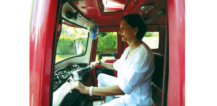 Lahore gets first women-only auto-rickshaw