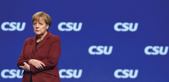 Merkel: she has rebuffed calls to introduce a formal ceiling on the number of refugees Germany accep