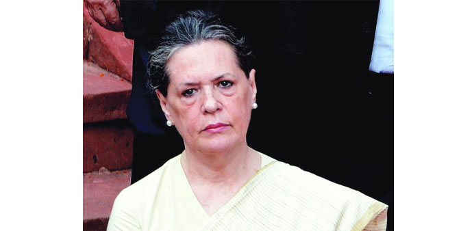 Sonia demands Shah's 'immediate' resignation
