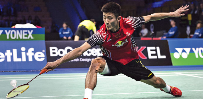 World number one Chen Long is the first man to win more than 100,000 ranking points.
