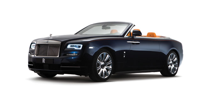 The Dawn drophead coupe (