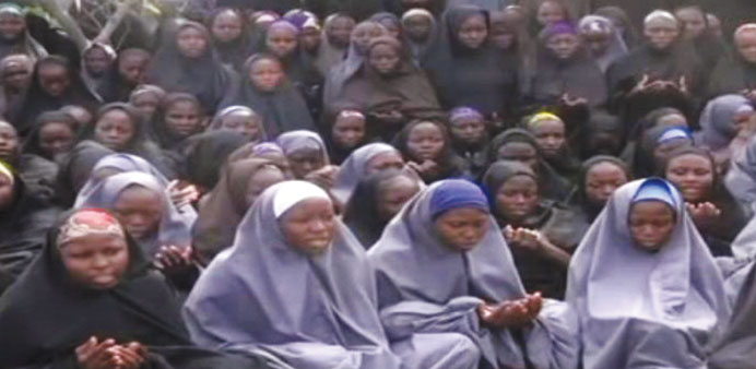 Boko Haram releases new video of alleged Chibok girls