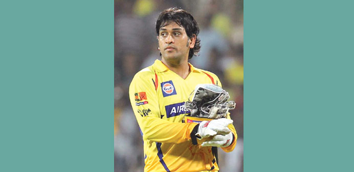 It will be the first time that MS Dhoni will not turn out for Chennai Super Kings.