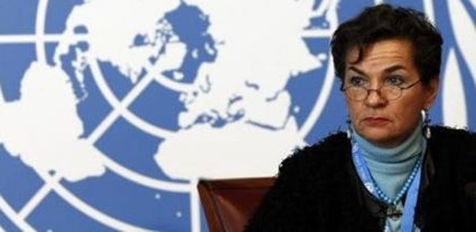 UN climate chief Christiana Figueres