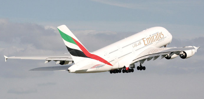 The two-class A380 that will be operated on the Bangkok route.