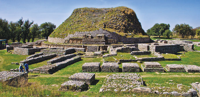 There are a number of world heritage sites present in Pakistan and Taxila is one of them.
