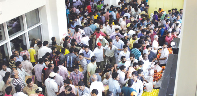 Huge crowds that thronged newly-opened Grand Mall on the First Day of Eid al-Adha.