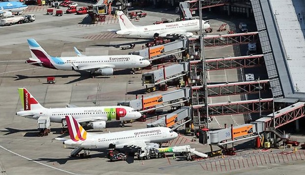 Cabin crew strikes hit Eurowings and Germanwings today