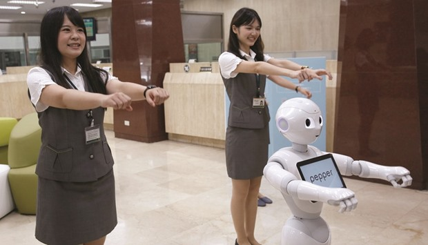 softbank s struggles with pepper keep son s robot dreams on hold. Black Bedroom Furniture Sets. Home Design Ideas