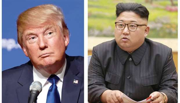 Donald Trump and Kim Jong-un