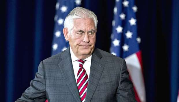 Tillerson Faults Saudi-Led Bloc for Failing to End Qatar Crisis