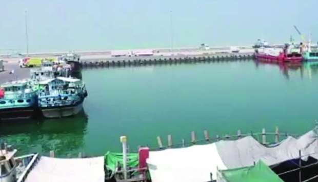 A view of Ruwais Port. PICTURE: Mwani Qatar