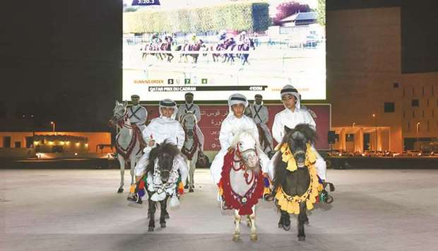 Qatar Racing and Equestrian Club celebrates Qatar Prix de l'Arc de Triomphe at Souq Waqif