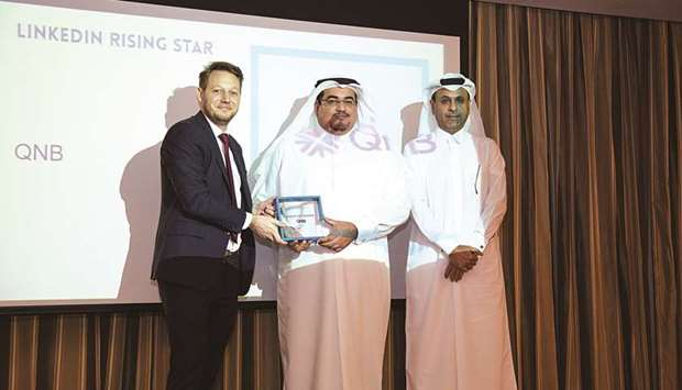 QNB named 'Rising Star' at LinkedIn's Qatar Talent Awards