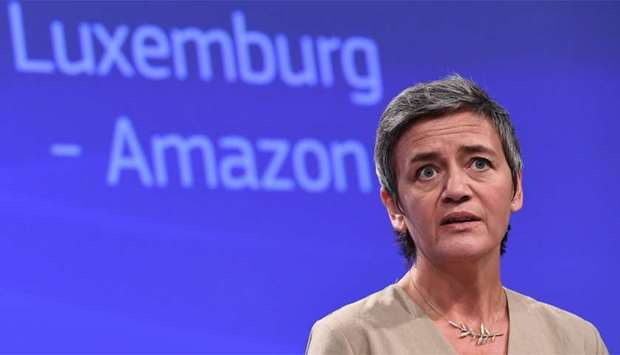 EU Commissioner for Competition Margrethe Vestager
