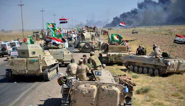 Iraqi military recaptures vital Isis stronghold of Hawija