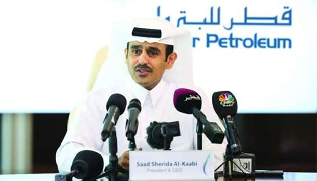 Oil, gas exports unaffected by blockade, says al-Kaabi