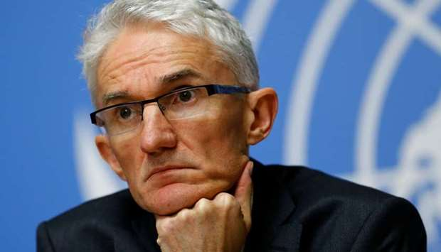 Mark Lowcock, Under-Secretary-General for Humanitarian Affairs and Emergency Relief Coordinator,