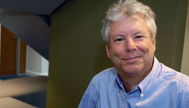 Richard Thaler poses in an undated photo provided by the University of Chicago Booth School of Busin