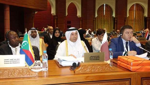 HE the Minister of Education and Higher Education Dr Mohamed bin Abdul Wahed al-Hammadi attends the