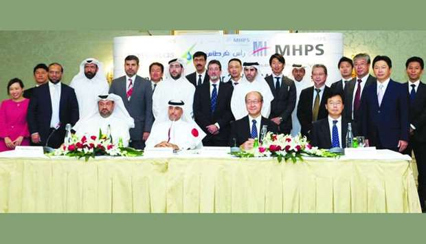 Ras Girtas Power Co signs 15-yr service pact with Mitsubishi Hitachi Power Systems