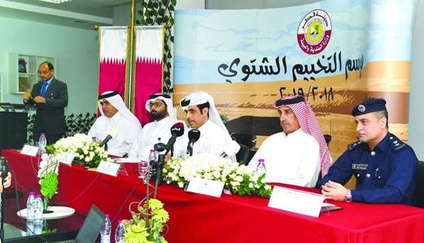 The assistant undersecretary for environment affairs of the Ministry of Municipality and Environment