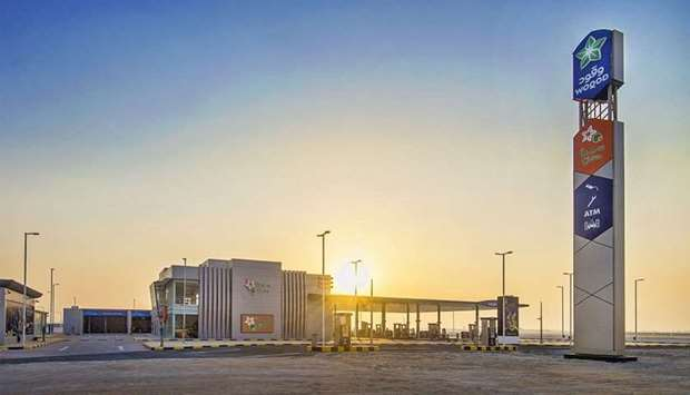 HIA fuel station