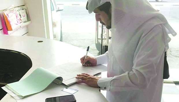 An official writes a report in line with Article 7 of Law No 8 of 2008.