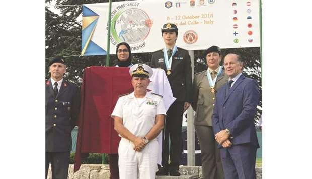 Qatar wins medals at military shooting competition in Italy