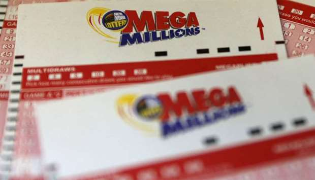 Mega Millions entry tickets
