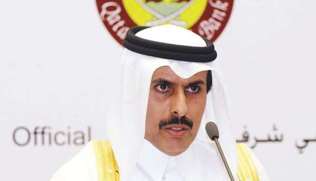 HE the Governor of Qatar Central Bank, Sheikh Abdullah bin Saoud al-Thani