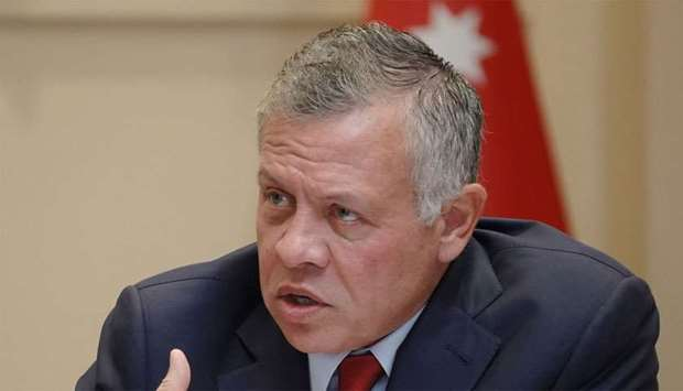 Jordanian King to end border land lease extension with Israel