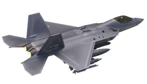 A computer generated image of KF-X.