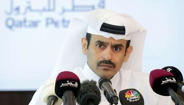 Saad bin Sherida Al Kaabi, the President and CEO of Qatar Petroleum announces the IPO of Qatar Alumi