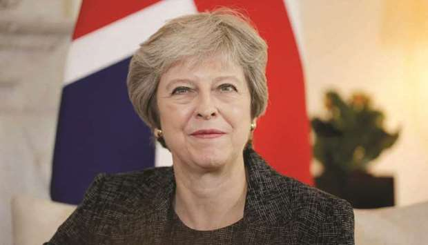 Prime Minister Theresa May. For May, a referendum could be the key that unlocks the cage in which he
