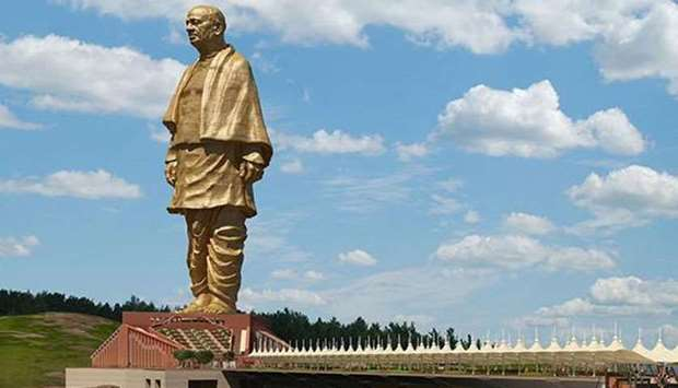 Towering at 182 metres, the Statue of Unity is a tribute to Sardar Vallabhbhai Patel