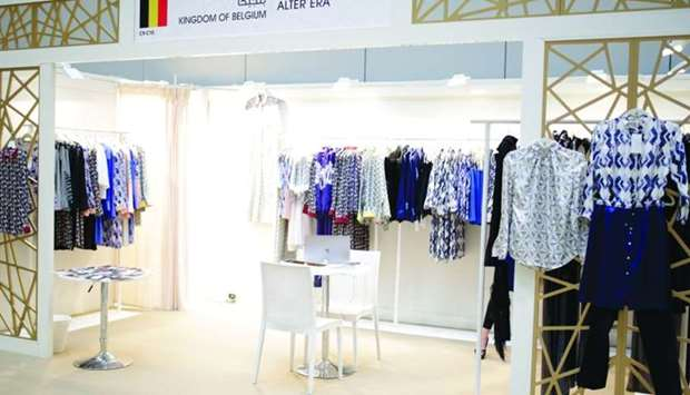 Heya showcased more than 25 international brands of abayas and modest fashion collections.